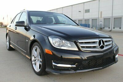 """2012 C-Class C 250 SPORT LEATHER NAVIGATION WOOD ONLY 75K MILES 2012 Mercedes-Benz C 250 SPORT LEATHER ROOF 17""""WHEELS NAVIGATION  ONLY 75K MILES"""