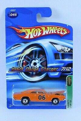 Hot Wheels Super Treasure Hunt 1969 Dodge Charger New On Card Very Nice