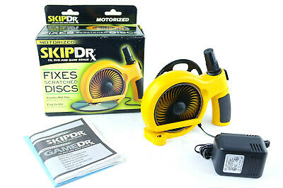 Motorized SkipDoctor by Digital Innovations Model 1013000 Fixes Scratched Discs