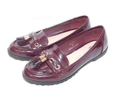 New Look Girls Burgundy Shoes Size 3(36)