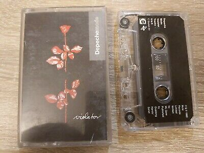 Vintage DEPECHE MODE VIOLATOR CASSETTE Collectable
