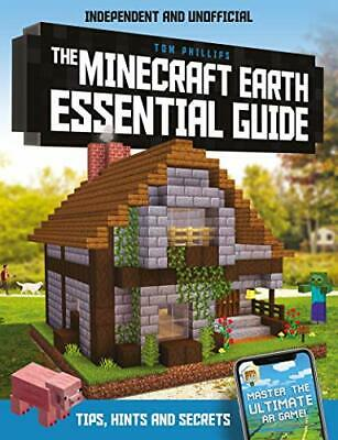 Minecraft Earth Essential Guide book:100% New