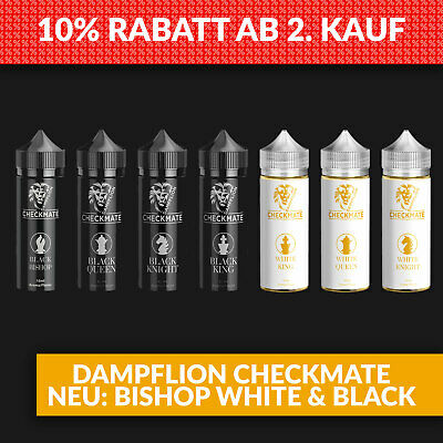 3x Dampflion Aroma Checkmate White King Black Queen Black Bishop White Knight