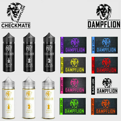 Dampflion Aroma Checkmate White, Black & Classic Liquid mischen Special Edition