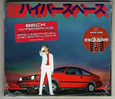 BECK : HYPERSPACE New CD TARGET EXCLUSIVE BRAND NEW with BONUS TRACK