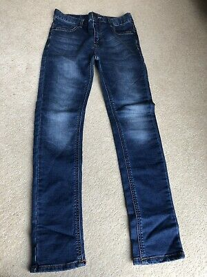 Boys NEXT Skinny Jeans With Stretch Age 11 In Great Used Condition
