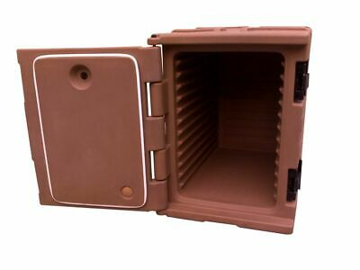 Insulated Front Loading Food Pan Carrier for Restaurant and Catering Use