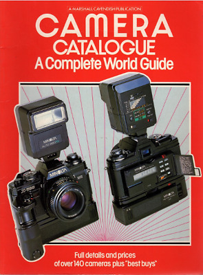 MARSHALL CAVENDISH 1983 Camera Catalogue - A Complete World Guide
