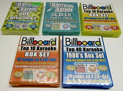 Karaoke Lot / Billboard & Party Tyme / Some New, Mostly Used