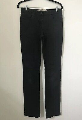 Next Women Jeans Size 10 Black Slim W30 L32 Denim Trousers