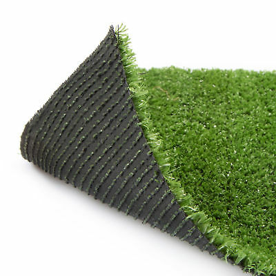 Super Budget Artificial Grass 40mm Thick Wide Garden Lawn Turf Astro CLEARANCE
