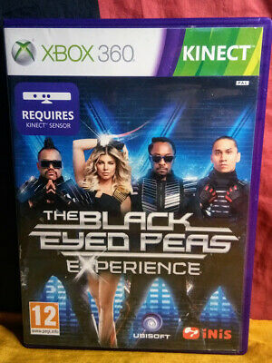 The Black Eyed Peas Experience - Microsoft Xbox 360 Kinect - Includes Manual