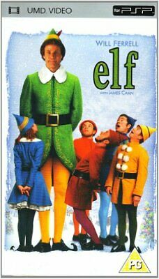 Elf [UMD Mini for PSP] By Will Ferrell,Edward Asner,Jon Berg,Todd Komarnicki,.