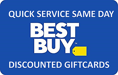 Best Buy Gift Card Value $100 - Discounted