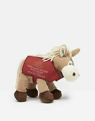 Joules Womens Official Horse Trials Horse Toy in WHITE HORSE in One Size