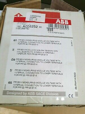 ABB 1160369762 Communications Module KIT 1SDA058254R1 1SDA058252R1 1SDA058232R1
