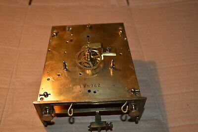 Victorian Twin Weight Vienna  Movement  Sold For Parts Or Restoration Vm2