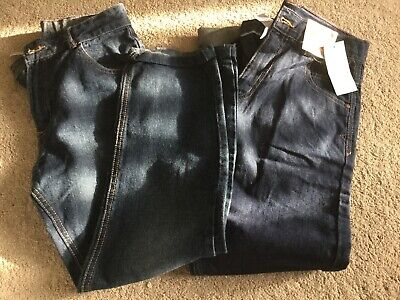 💝2 Pairs Of Boys Cotton Jeans Age 11-12. Ex Cond💝