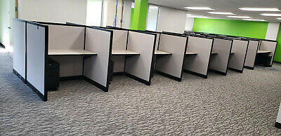 """Steelcase Call Center Cubicles 48""""W x 36""""D x 53""""H"""