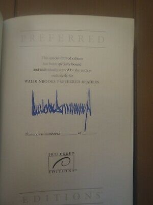 1990 Trump, Surviving At The Top, Proof Copy1St Ed , Signed By Donald Trump,Rare