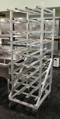 New Age Industrial, Full Size Can Rack with Casters