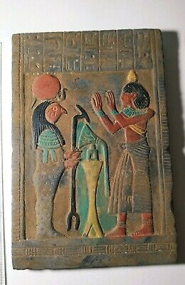 RARE ANCIENT EGYPTIAN ANTIQUE ANUBIS Stella Ancient Antique 1252-1140 BC