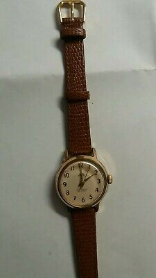 vintage smiths jewelled antimagnetic  shockproof wind-up watch working fine