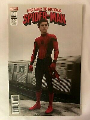 Marvel Peter Parker The Spectacular Spider-Man #1 1:15 Movie Variant Cover