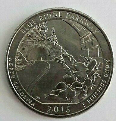 2015 D BLUE RIDGE PARKWAY  NATIONAL PARK QUARTER  **FREE SHIPPING**