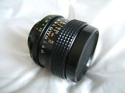 Classic HELIOS Auto Wide Angle 1:2.8 28mm Lens In M42 Screw Mount