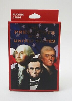 Presidents of the United States collectable playing cards BNIB