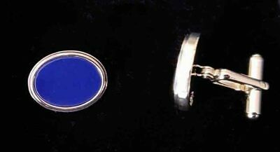 BROOKS BROTHERS Silver Knot Design Cuff Links Cufflinks Stainless Steel New