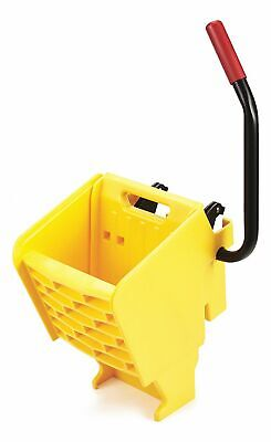 Rubbermaid Commercial Products Side Press Mop Wringer, Yellow, 10 to 32 oz. Mop