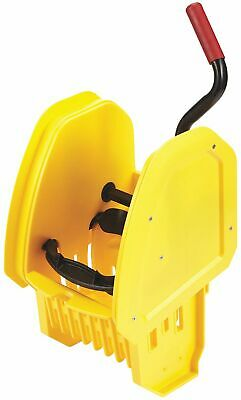 Rubbermaid Commercial Products Down Press Mop Wringer, Yellow, 10 to 32 oz. Mop