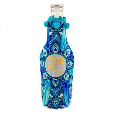 Hostess with the Mostess Zen AF Stubby/Alcopop Hugger by Lisa Pollock