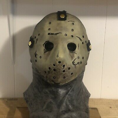 Friday The 13th Never Hike Alone NHA Jason Voorhees Hockey Mask Replica