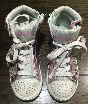 Twinkle Toes by Skechers Girls High top  Size  1 Shoes