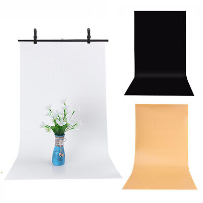 Photography Backdrop  PVC Vinyl Matte Background Screen For Small Items