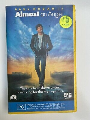 Almost An Angel Paul Hogan Vhs Tape