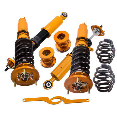 for BMW 3 Series E46 Coilover Suspension Kit + Camber Plate 98-05 320i 325i 323i