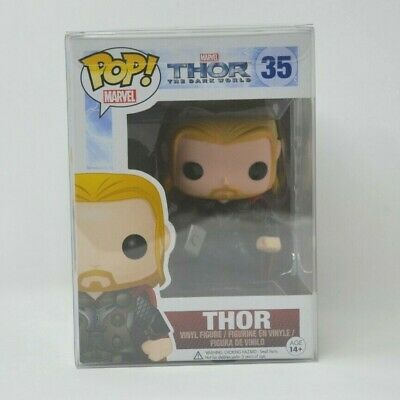 Funko Pop! Thor (The Dark World) 35 *Vaulted* 2013 *Free Shipping*
