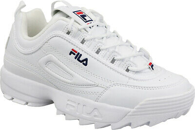 Fila Disruptor Low Chaussures Homme Baskets Loisirs Basses Blanc 1010262.1FG