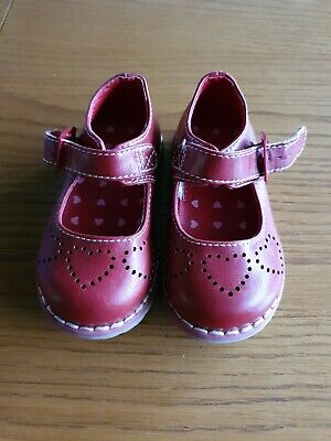 Mothercare Girls Shoes. Infant Size 4. WORN ONCE!