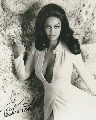 Pauline Peart Signed In Person Photo - Starred in Satanic Rites of Dracula -J266