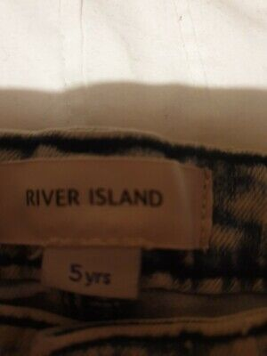 River Island Childrens Jeans And Top aged 5