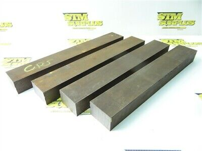 "7//8/"" x 3 ft long Square Bar C1018 Cold Rolled Mild Steel Ships UPS 1 Piece"