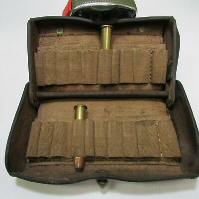 McKeever 45-70 cartridge pouch - ammo box springfield trapdoor model 1873-74