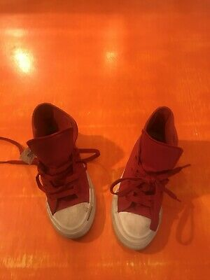 Converse Chuck Taylor High Tops Red Kids Size Uk 13