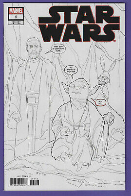 One Per Store Party Sketch Variant 2020 Marvel Star Wars #1 Premiere Variant