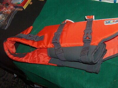 Outward Hound Pet Gear Life Jacket Medium Orange/Reflective Panels